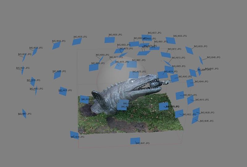Metashape 3Dmodeling